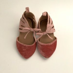 Pink baby shoes, old navy, 12-18 months